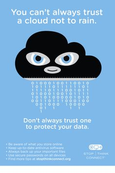 Information Security Awareness Poster #InfoSecurity