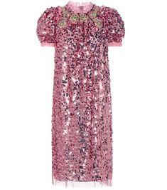 mytheresa.com - Sequin-embellished dress - Luxury Fashion for Women / Designer clothing, shoes, bags
