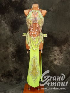 Grand Amour is a worlwide golden brand manufacturer of dresses, gowns and costumes for ballroom and latin dancers Latin Ballroom Dresses, Latin Dresses, Bollywood Costume, Crystal Dress, Next Dresses, Belly Dance Costumes, Future Fashion, Dance Outfits, Dance Wear