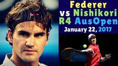 🏅 Roger Federer vs Kei Nishikori – Australian Open 2017 R4 – Highlights ...