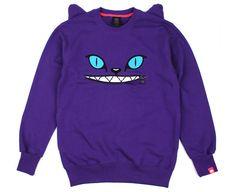 #romwe Disney Cats, Purple Sweater, Hoodies, Sweatshirts, Romwe, Sweaters, Inspiration, Outfits, Clothes