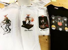 @AlbissolaComic1 Il nostro amico Marco è pronto per #albissolacomics  con le t-Shirt #club27 stampate su burger-print.com #printtshirt #printtshirtonline  #vintage #hendrix #cobain #amy #print #ink #burger #tee #tshirt #club #instalike #custom #singer #song #comics #apparel #design #graphic #detail