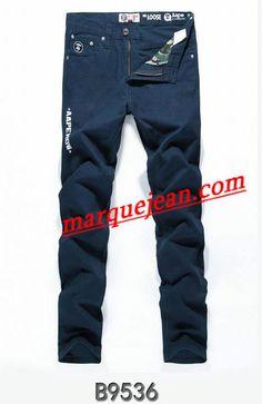 Vendre Jeans A Bathing Ape Homme H0007 Pas Cher En Ligne.