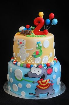 toopy and binoo - for Zack's birthday party? 19th Birthday, 3rd Birthday Parties, Boy Birthday, Birthday Ideas, Birthday Cakes, Fun Crafts For Kids, Cakes And More, Cupcake Cakes, Cupcakes