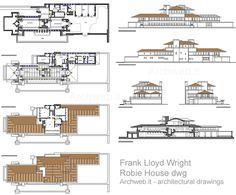 Robie House 2D - F. Lloyd Wright
