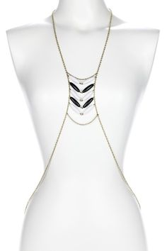 Vanessa Body Chain by Downtown Chic: Jewelry Event on @HauteLook
