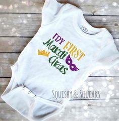 01f43b88 Mardi Gras Outfits, Vinyl Shirts, Baby Shirts, Baby Outfits, Shirt Ideas,  Cricket, Louisiana, Future Baby, Showers