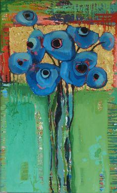 Blue Anemones                 #770