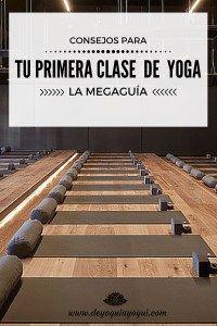 Consejos para tu primera clase de yoga