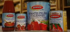 """The Granoro """"Rosso Cuoco"""" (Red Line) products are obtained from tomatoes cultivated and processed in Italy, accurately selected and processed within a few hours from their harvest. None of them employ acidity correctors due to the fact that they are completely natural."""
