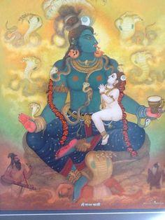 Paramchaintanya Men — Shanti Kali Nursing Infant Shiva  Gopalachar...
