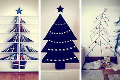 25 Idées de Sapins de Noël Pour les Petits Espaces (PHOTOS)