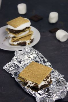 Easy ooey gooey Grilled S'mores