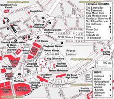 Aberdeen Map Tourist Attractions Trippin Pinterest Scotland
