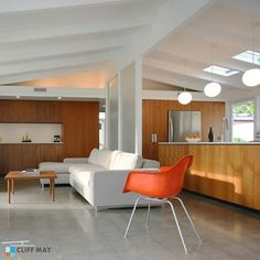 Just found our place on Pinterest. Taken by photographer for CA Modern