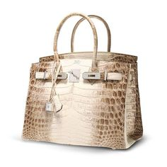 7) This $432,000 purse is made of crocodile skin, white gold, and diamonds.