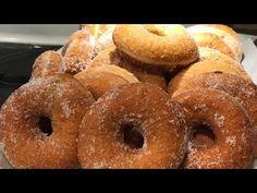 Donas 🍩 Receta De 1 Kilo Donas Azucaradas Leer Caja De Información para NEGOCIO 25 donas 🍩 - YouTube Creative Snacks, Tamales, Doughnut, Donuts, Desserts, Food, Kitchen, Sourdough Recipes, Bagels