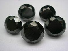 Black diamonds black jewellery