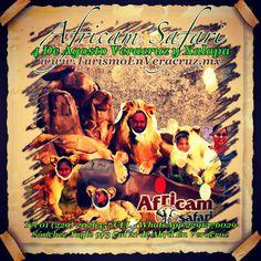 Vamos a #africamsafari saliendo de #Veracruz y #Xalapa +Info http://www.turismoenveracruz.mx/2013/07/vamos-a-africam-safari-este-4-de-agosto-2013-saliendo-de-veracruz-y-xalapa/ #Mexico #puebla