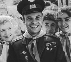 Yuri Gagarin.  (9 March 1934 – 27 March 1968) was a Soviet pilot and cosmonaut. He was the first human to journey into outer space, when his Vostok spacecraft completed an orbit of the Earth on 12 April 1961.