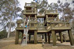 balboa park treehouse l8qct 48 50 Kids Treehouse Designs