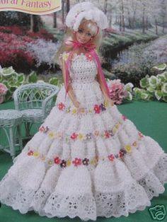 Vestidos de crochet da Barbie - Elisiane Severo - Picasa Web Albums