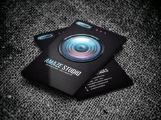 Photographer Lens Business Card by Odin_Design on @creativemarket