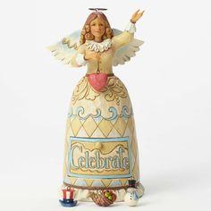 Celebrate Life's Many Blessings-Celebration Angel 5 Piece Set Figurine