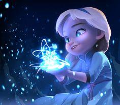Frozen by ueno (ID: Elsa Frozen Disney, Princesa Disney Frozen, Frozen Art, Elsa Frozen, Disney Princess Drawings, Disney Princess Pictures, Disney Drawings, Frozen Wallpaper, Cute Disney Wallpaper