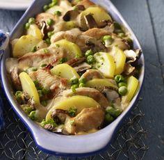 Kartoffelauflauf mit Rahmsauce | Weight Watchers