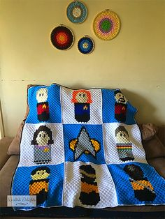Ravelry: Star Trek CAL blanket pattern by Denise Barnes
