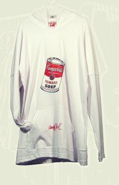 De Stijl # 2007 # Andy Warhol # Campbell´s  Design Tees Andy Warhol, Shirt Designs, Money, Long Sleeve, Sleeves, Mens Tops, T Shirt, Fashion, De Stijl