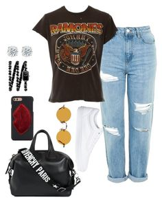 """""""casual #27"""" by sandradelangel on Polyvore featuring Topshop, MadeWorn, Vans, Givenchy, Kendall + Kylie, Hakusan and Chanel"""