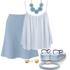 """""""#140: Baby Blues"""" by eiluned on Polyvore"""