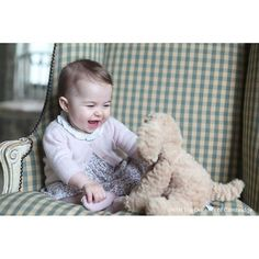 Princess Charlotte Is Too Cute For Words in New Photos Taken by Kate...