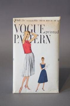 vogue #9468 1950s
