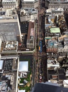 London Pride 2014, from above