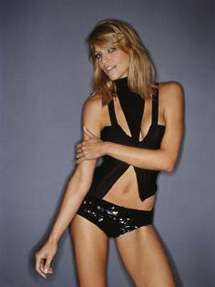 Canadian model & actress Tricia Helfer