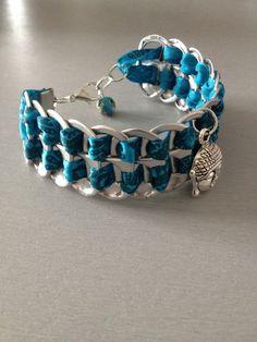 1000 id es sur le th me bracelet de canette de soda sur pinterest art canette de soda bo tes - Bracelet perle et ruban ...
