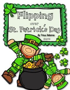 St. Patrick's Day Interactive Flip Book: Flipping Over St. Patrick's Day #St.Patrick'sDayReader Repinned by SOS Inc. Resources pinterest.com/sostherapy/.