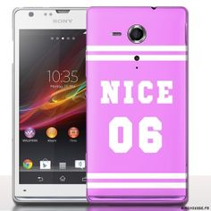 Coque Tel portable Sony Xperia SP Nice 06 Rose. #Sony #Xperia #SP #Nice #06 #Rose