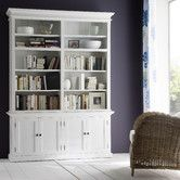 "Found it at AllModern - Halifax Twin Tower Hutch 86.6""H x 94.5 W x 19.6 D Bookcase $1519"