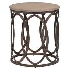 Gabby Furniture Ella Side Table