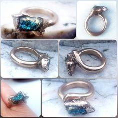 Metal Clay, Bronze, Rings, Jewelry, Fashion, Copper, Rhinestones, Silver, Moda