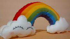 #Arcoíris #Feltro #kawaii #Feliz