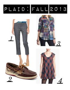"""We're """"Mad for Plaid"""" this fall!"""