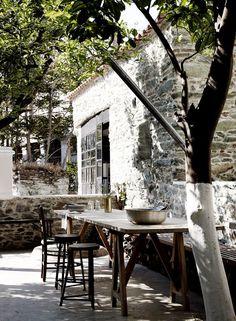 Une incroyable Maison d'architectes en Grèce