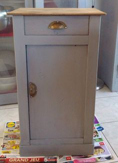 Meuble relooké Shabby Chic, Diy Déco, Cupboard, Deco, Inspiration, Cabinet, Home Decor, Armoire, Furniture