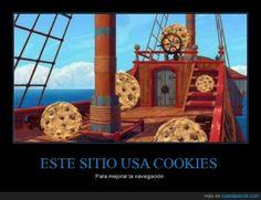 Cuando me dicen que un sitio usa cookies para mejorar la navegación - Para mejorar la navegación   Gracias a http://www.cuantarazon.com/   Si quieres leer la noticia completa visita: http://www.estoy-aburrido.com/cuando-me-dicen-que-un-sitio-usa-cookies-para-mejorar-la-navegacion-para-mejorar-la-navegacion/
