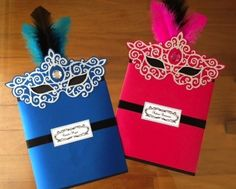 Masquerade Party Invitation by Nikki W